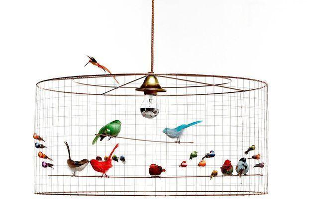 Suspension demi grande volière, Mathieu Challieres, Kids Love Design
