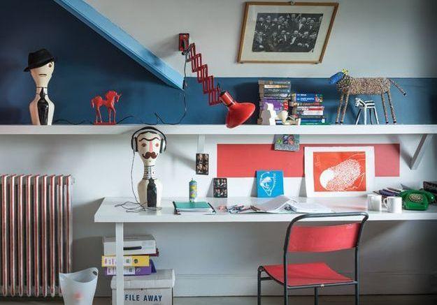 5 façons d'aménager un coin bureau dans une chambre d'ado