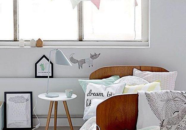 Une chambre d'enfant épurée