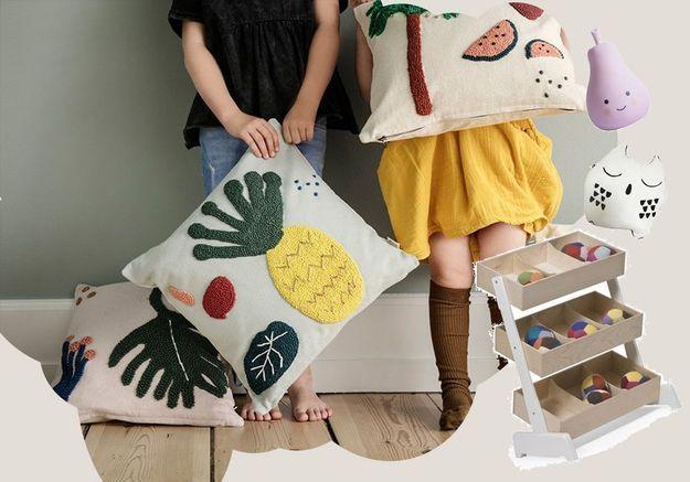 Kids déco : nos idées fun pour une chambre d'enfant cool et cosy