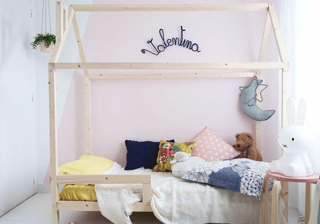 Un lit cabane à faire soi-même