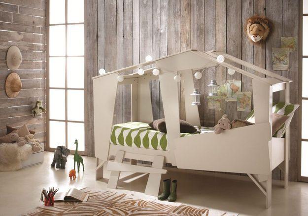 Un lit cabane original