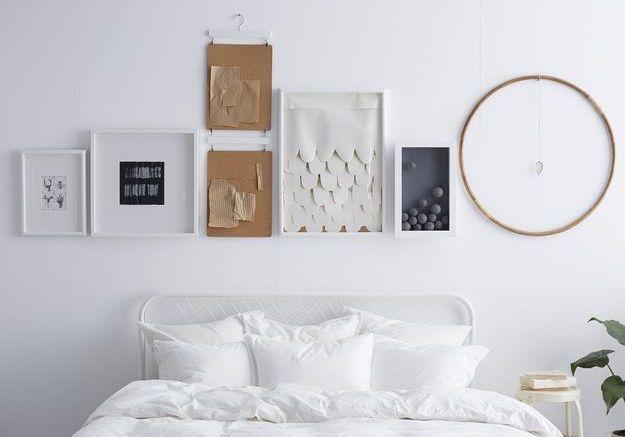 On opte pour le total look blanc pour créer une chambre cosy