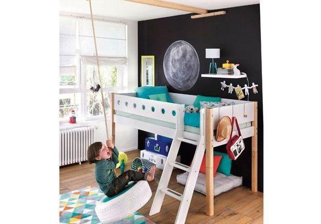 Une chambre d'enfants pour les amoureux de l'espace