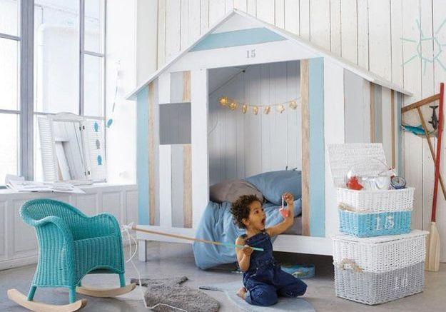 Une chambre d'enfants pour les petits moussaillons