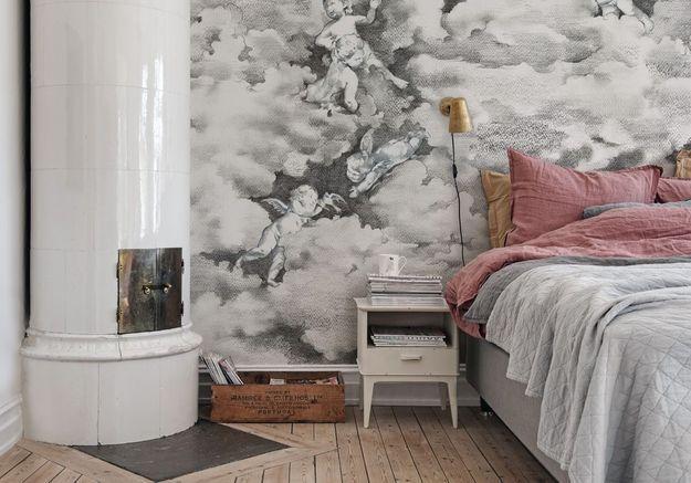 Une chambre grise poétique