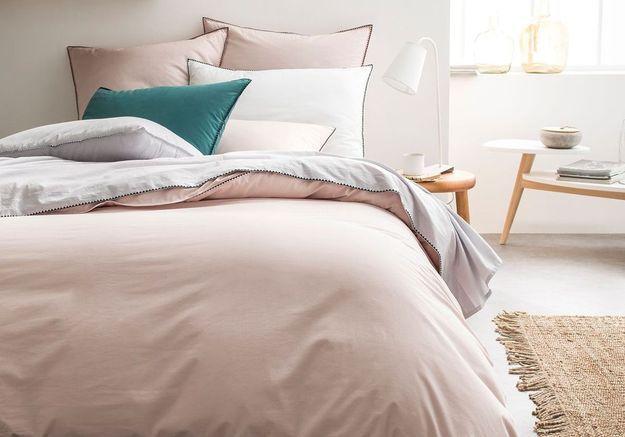 Jouez la carte de l'élégance via du linge de lit aux jolies finitions