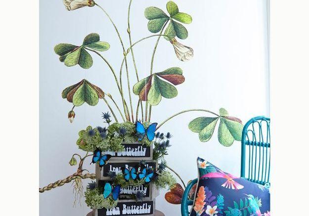 Un papier peint végétal
