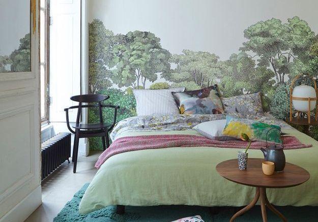 Une chambre à l'esprit japonisant