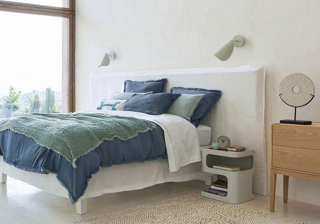 quelle housse de couette en lin finira chez vous elle. Black Bedroom Furniture Sets. Home Design Ideas