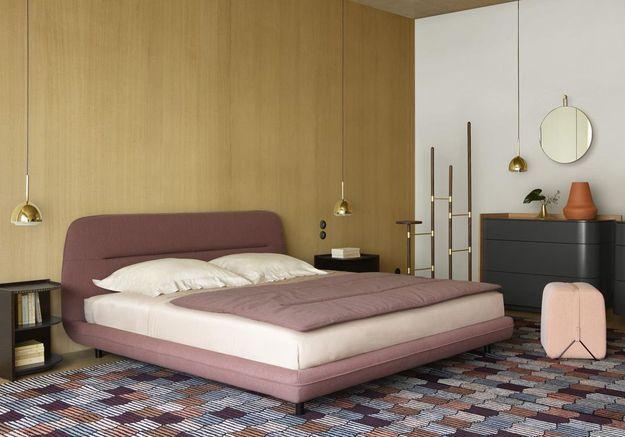 Investissez dans un lit design dans la chambre
