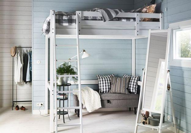 Lit mezzanine Ikea