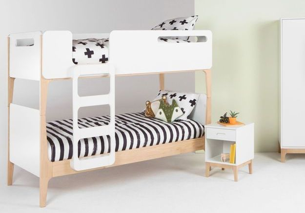Un lit mezzanine MADE