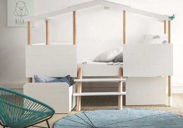 Un lit mezzanine Miliboo