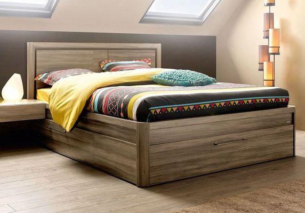 Les rangements intégrés au lit
