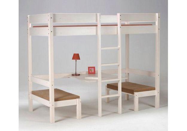 Un lit mezzanine pour enfant (6 ans et plus)