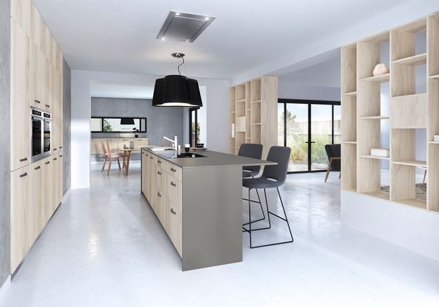 Une cuisine style factory XXL