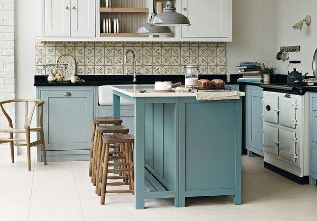Cuisine bleue Grange