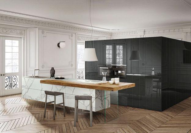 Des cuisines minimalistes déco et fonctionnelles