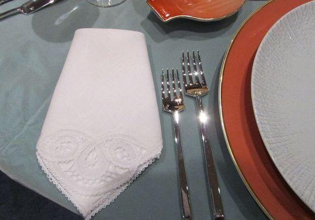 La serviette de table