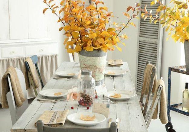 Déco de table : nos idées pour l'automne