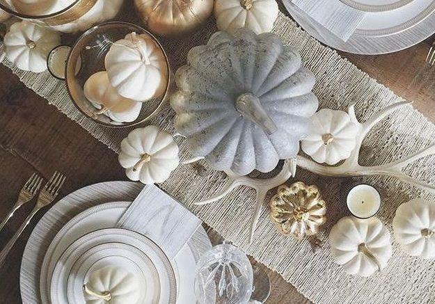 Une déco de table Halloween sophistiquée