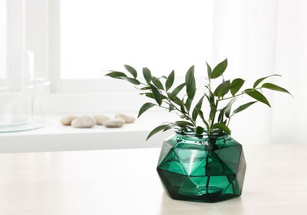 Déco de table pas chère : un vase géométrique