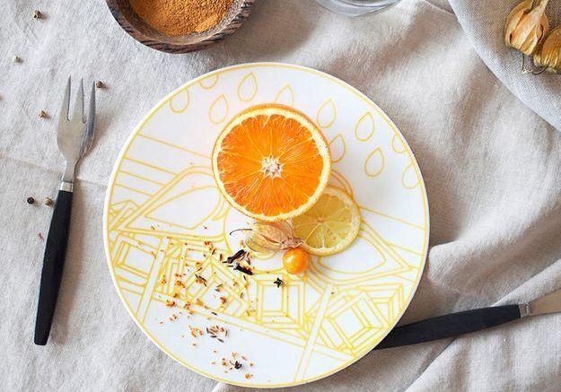 L'inspiration du jour : de la vaisselle vitaminée fabriquée à la main