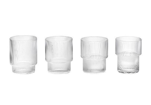 Vaisselle design : des verres à eau originaux