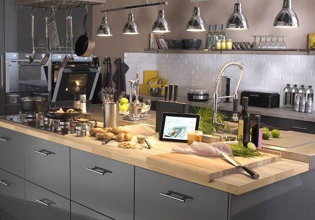 Dossier sp cial cuisine elle d coration - Art et decoration cuisine ...