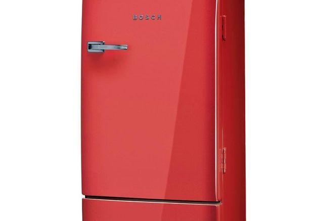 Mini réfrigérateur rouge