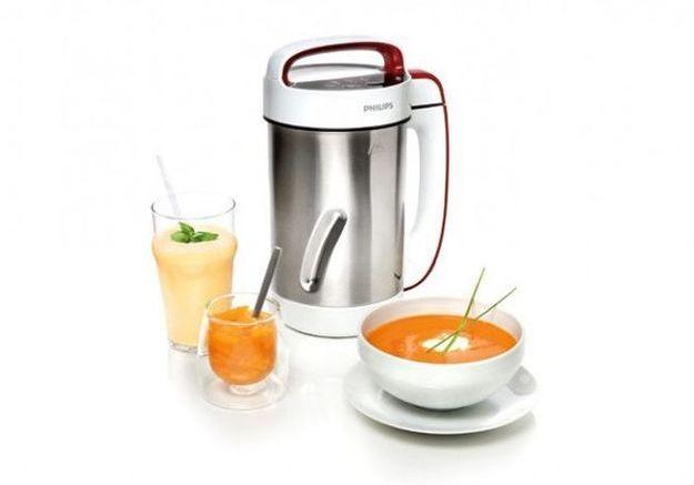 Le robot qui prépare votre soupe