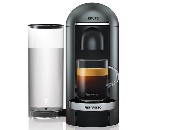 Une petite machine à café