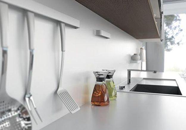 Quel mat riau pour la cr dence de ma cuisine elle d coration - Cuisine en corian ...