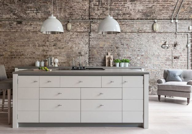 Invitez les meubles de salon dans la cuisine