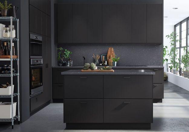 Une cuisine design très élégante