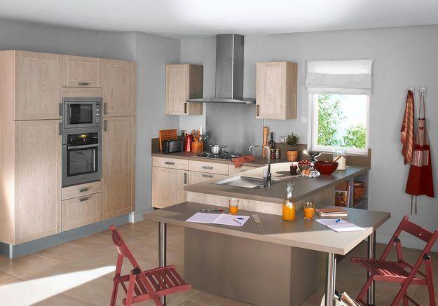 Cuisine lapeyre nos mod les de cuisine pr f r s elle d coration - Acheter plan de travail cuisine ...
