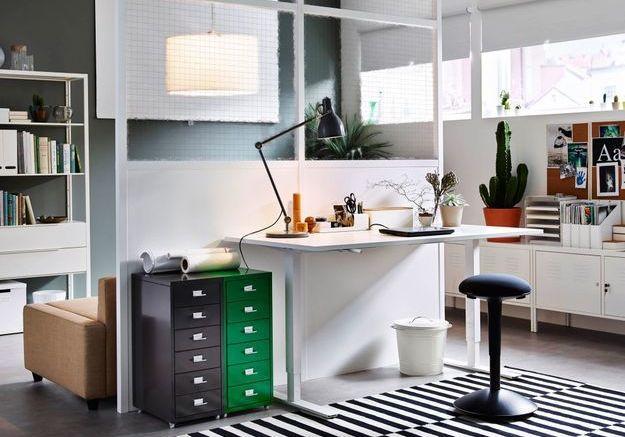 Un bureau IKEA rétro