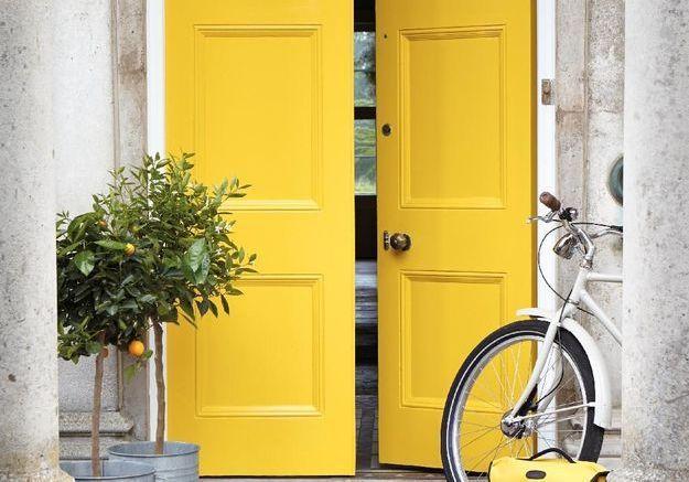 dis moi de quelle couleur est ta porte d entr e je te dirai qui tu es elle d coration. Black Bedroom Furniture Sets. Home Design Ideas