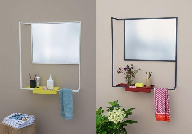 Miroir / étagère