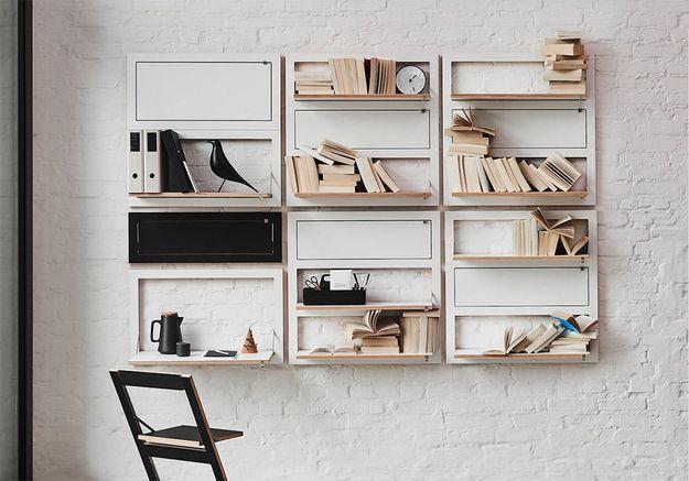 Le top des accessoires et  meubles modulables pour optimiser l'espace