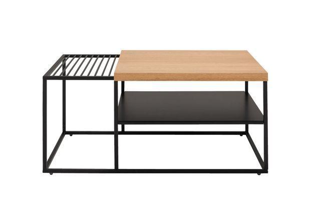 Une table basse qui cache un plateau coulissant