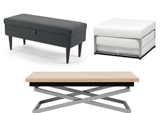 Des meubles à double fonction