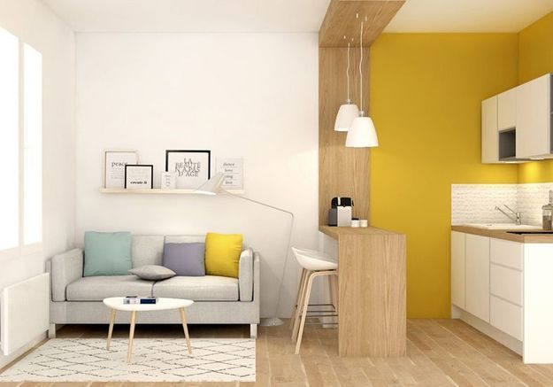 comment am nager son studio elle d coration. Black Bedroom Furniture Sets. Home Design Ideas