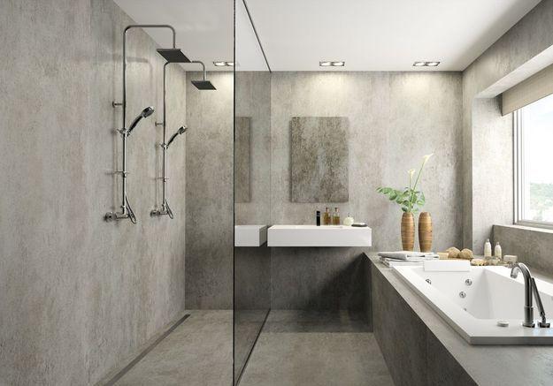 Choisissez un paroi de douche en verre minimaliste