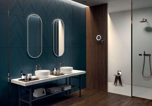 Une salle de bains design de luxe