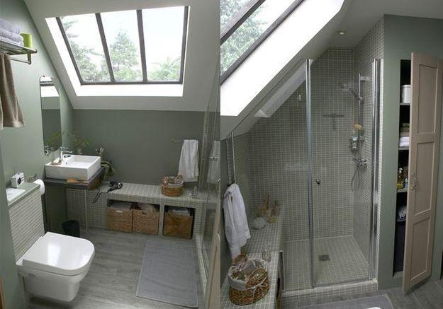 5 idées d\'aménagement pour une petite salle de bains - Elle Décoration