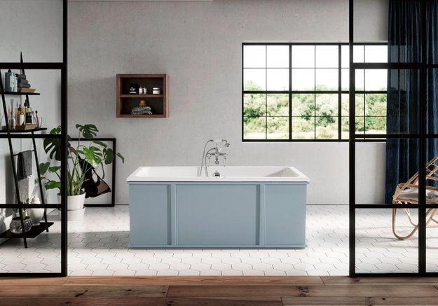 Baignoire design Bleu Provence
