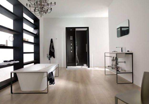 Salle de bains design et épurée