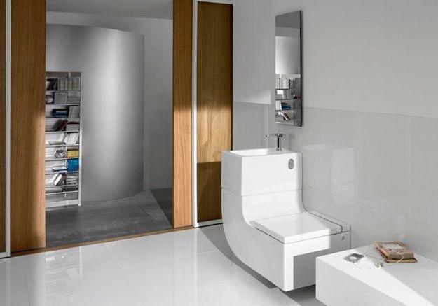 wc am nager et d corer les toilettes elle d coration. Black Bedroom Furniture Sets. Home Design Ideas